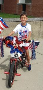 bikes 2nd 83 Alex Weaver theme of parade