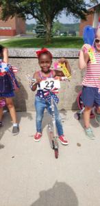 bikes 3rd theme of parade Gabrielle Quachey